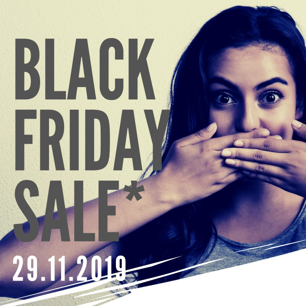 Lifestyle On Kloof Black Friday Poster