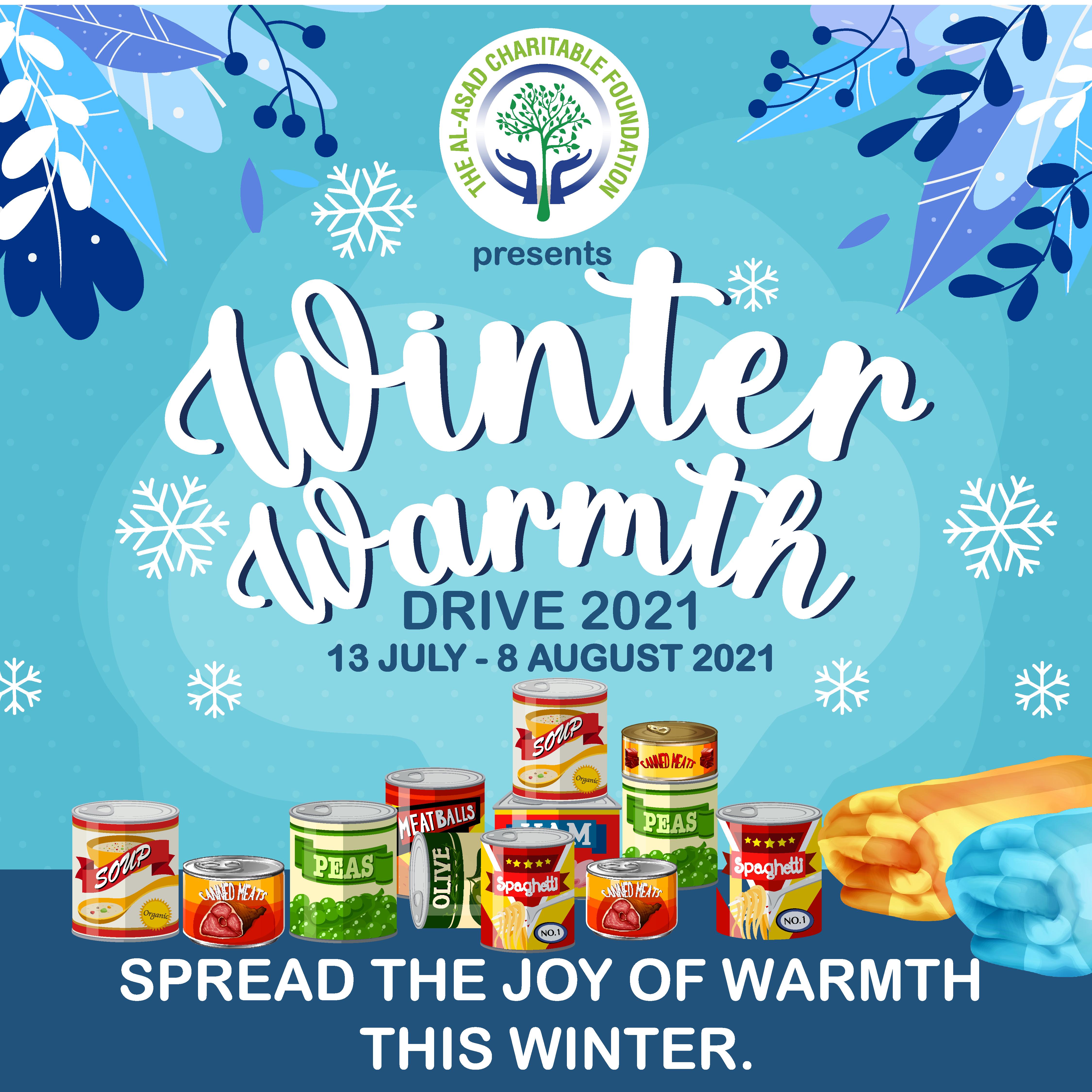 The Al-Asad Charitable Foundation Winter Warmth Drive 2021